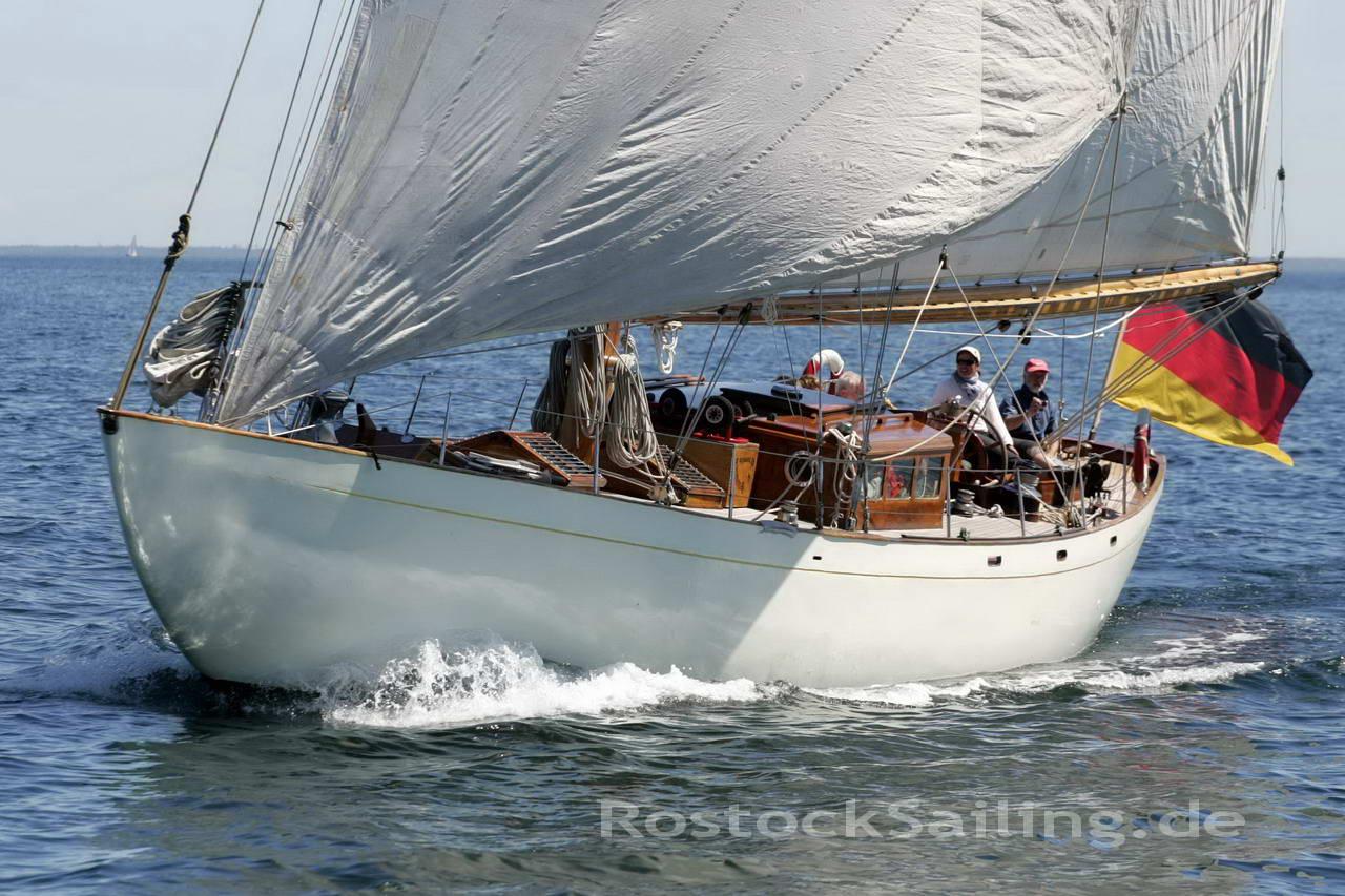 Rostock Sailing: Besuch aus Travemünde: S.Y. SÜDWIND