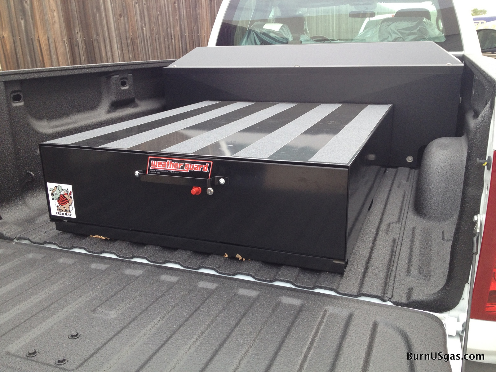 Weather guard truck drawer