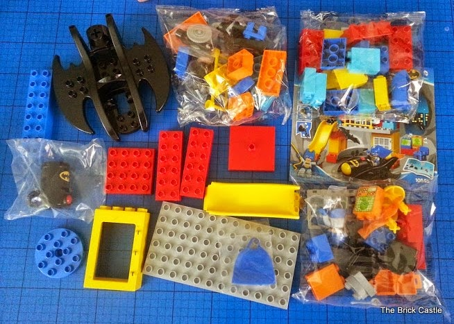 LEGO DUPLO Batcave Adventure set review bags