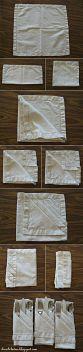 Doblar servilletas de forma original