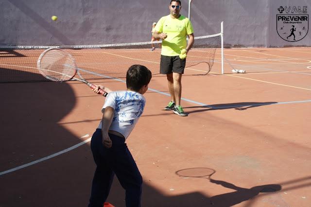 juego tenis niños