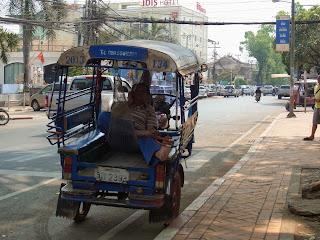 Laos tuk tuk