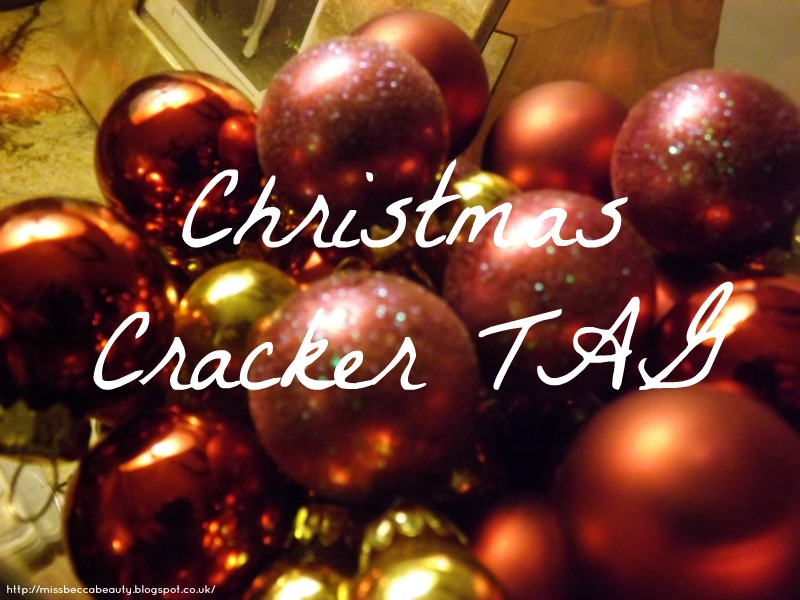 Christmas Crackers Tag : Blogmas Day 20