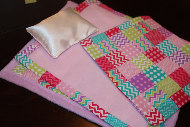 how to make small blankets for dolls