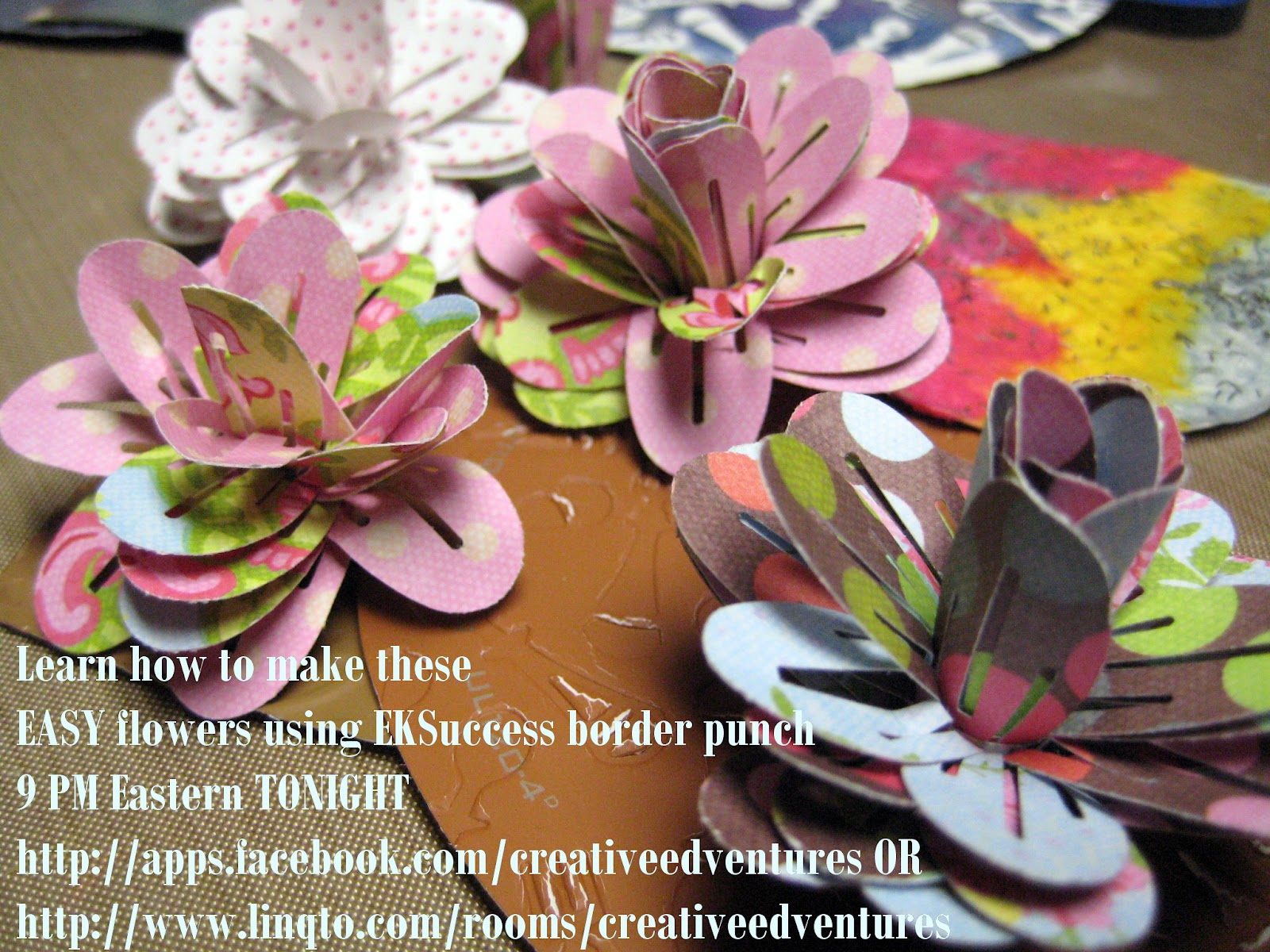 Decorablesart Learn How To Make Paper Flowers And Use Core