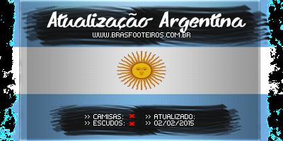 Atualização Argentina (Fevereiro) – Brasfoot 2014