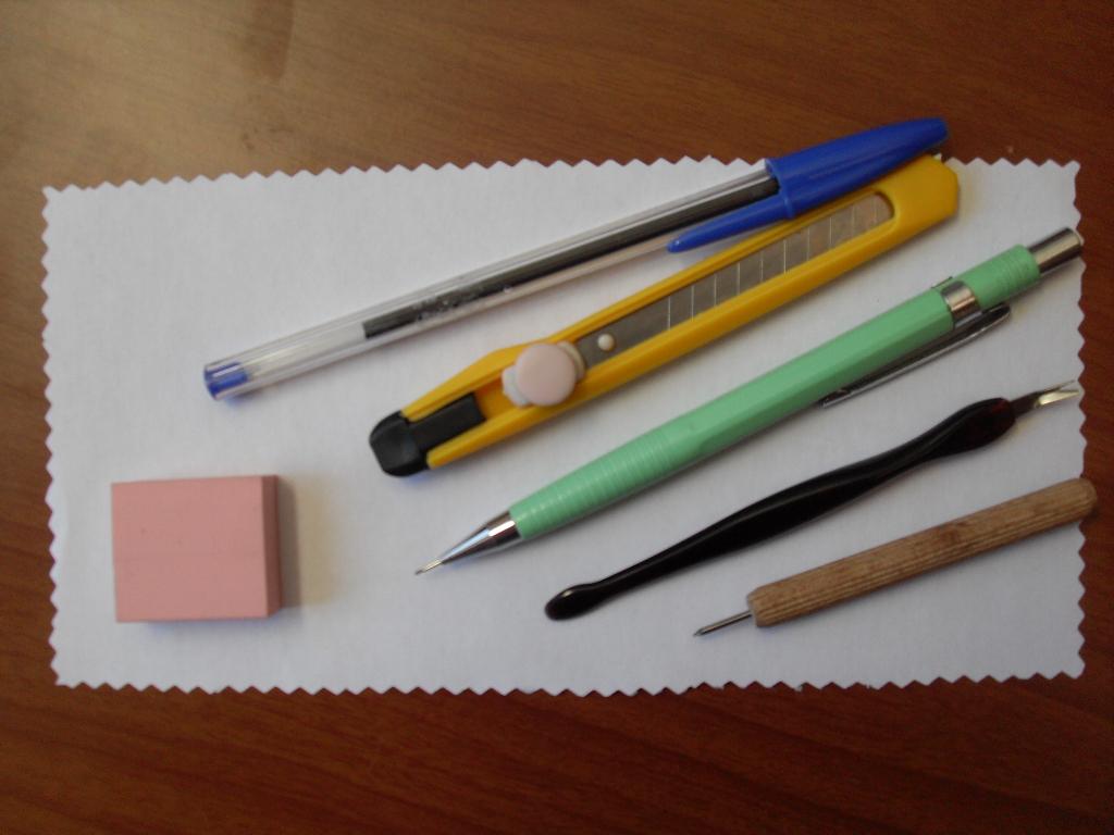 El taller de melissa tutorial como hacer sellos caseros - Hacer boligrafos en casa ...