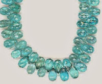 Natural Apatite Gemstone Beads