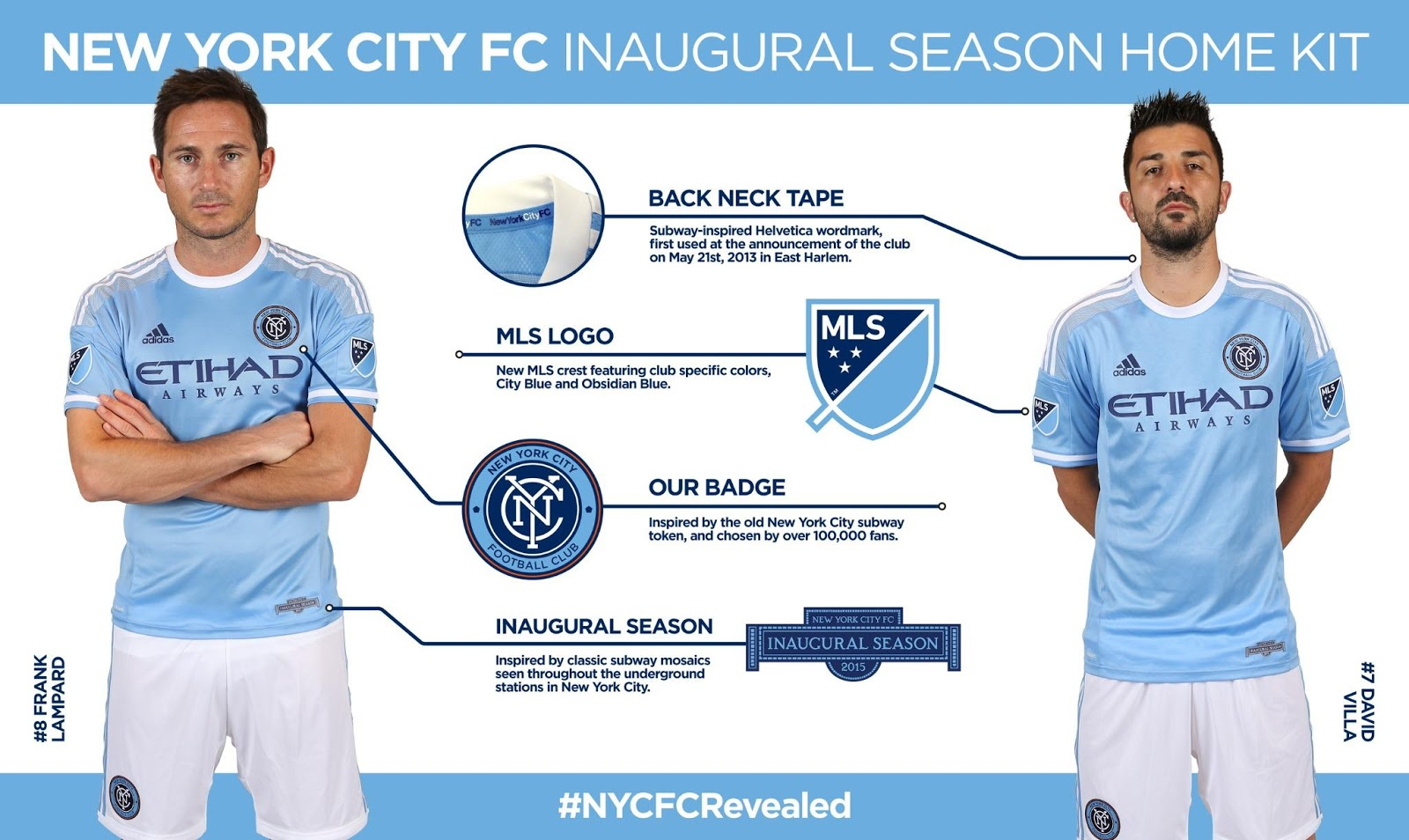 New York City FC 2015 MLS Home and Away Kits ReleasedScouting report: FRANCE2018-19 Kit Overview - All Leaked & Official 18-19 Shirts + InfoUltra Limited Nike Mercurial Superfly CR7 Chapter 6 Edição Especial Boots RevealedAdidas Telstar 18 'Mechta' 2018 World Cup Knock-Out Stage Ball RevealedInter 18-19 Away Kit LeakedOfficial Pictures: AS Roma 18-19 Away Kit LeakedOFFICIAL Pictures - 'Electricity' Adidas Predator Accelerator Remake Boots LeakedExclusive: Paris Saint-Germain 18-19 Away Kit LeakedTotal 90 Inspired? New Nike 2019-20 Teamwear Kit Leaked