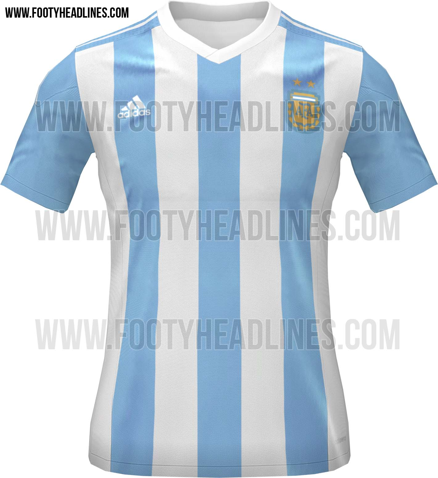 La nueva camiseta de la Seleccion Argentina 2015