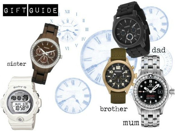 Christmas gift guide 2014: Watches for all the family on UK lifestyle blog.