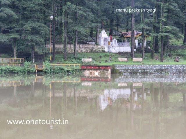 Dal lake ,dharamshala , himachal