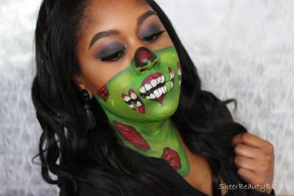 makeup of zombie