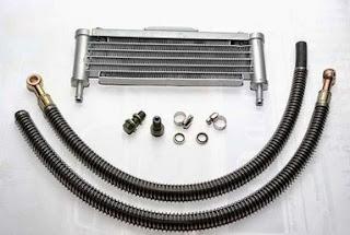 Berikut Tata Cara Pasang Oil Cooler Di Motor Yamaha Byson