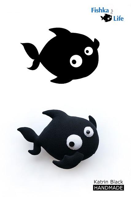 Рыбка Фил - логотип и игрушка :)