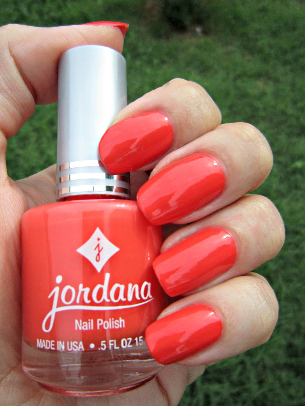 Concrete and Nail Polish: Jordana Orangesicle
