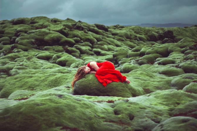 elizabeth gadd autorretrato islandia