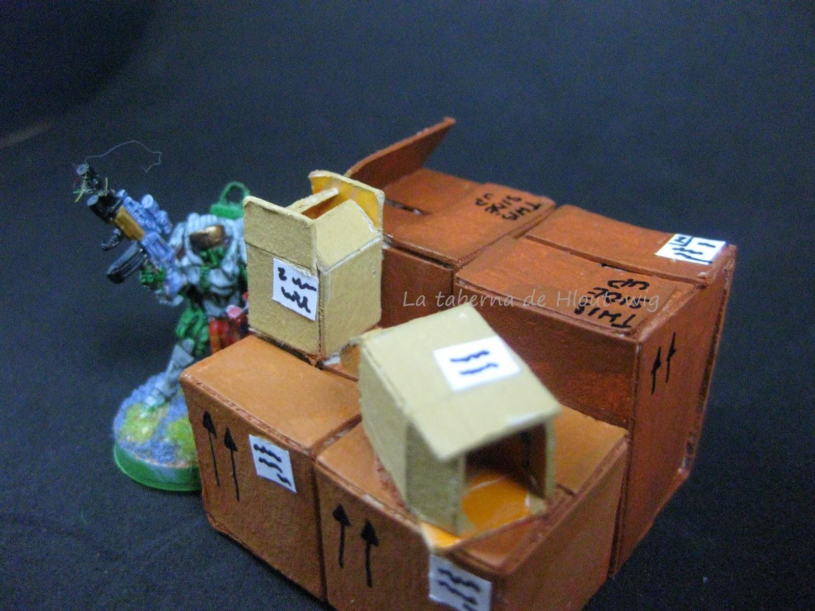 Mormaer y cajas