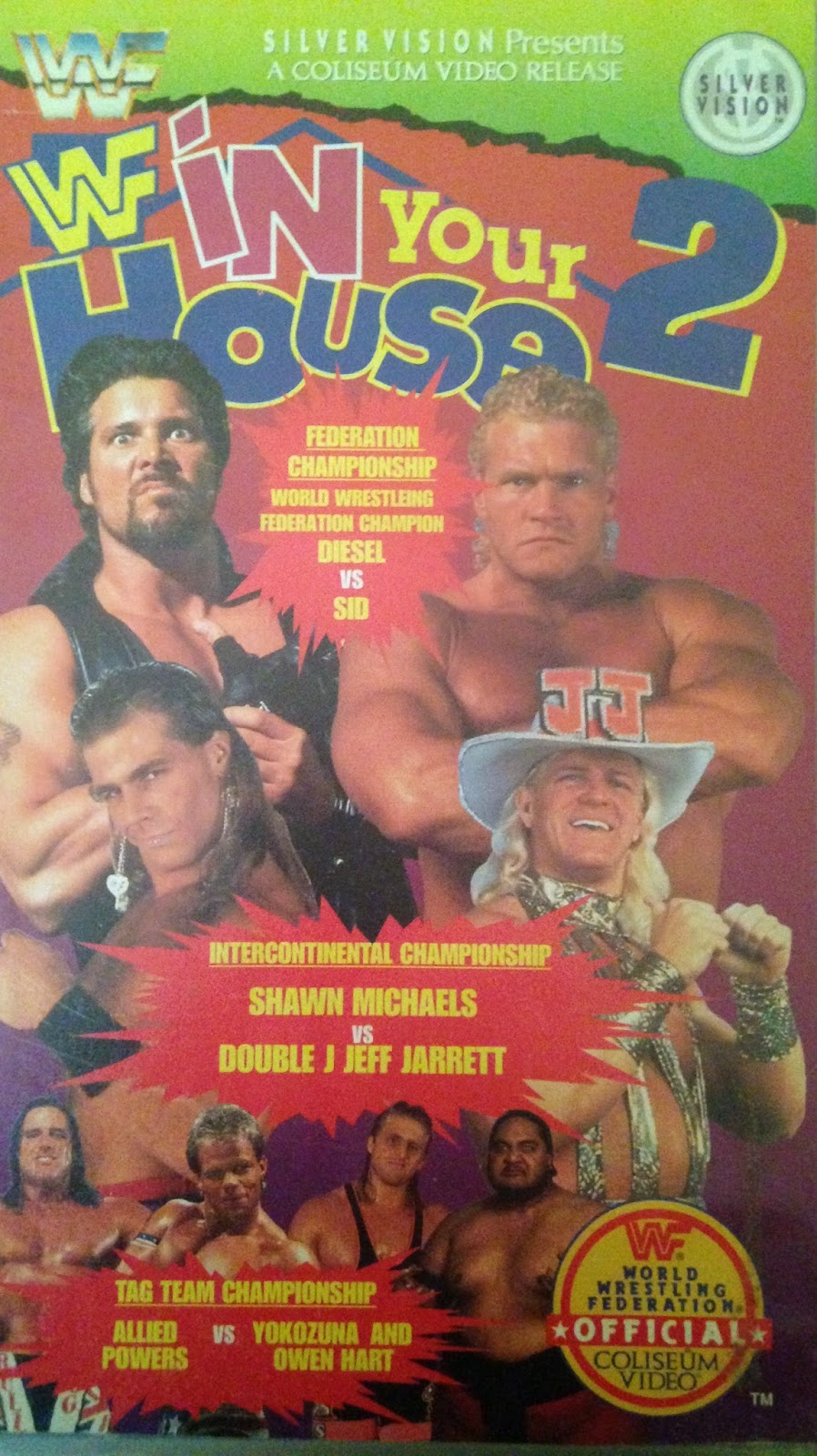 WWF / WWE - In Your House 2 - The Lumberjacks - VHS cover