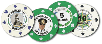 Monedas de Molossia