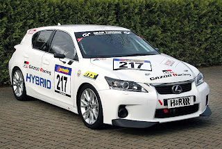 2011 Lexus CT200h Race Car to Debut at the Nurburgring