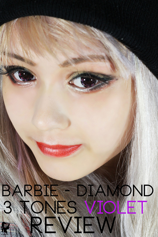 Barbie Diamond 3 Tones Violet