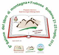 5^ EDIZIONE SALONE DEL LIBRO DI MONTAGNA FRABOSA SOTTANA 22-22 LUGLIO 2018