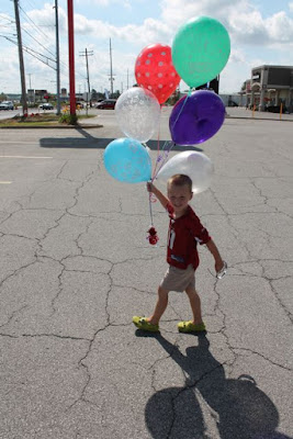 Activity Idea for PLEASE BRING BALLOONS by Lindsay Ward via www.happybirthdayauthor.com