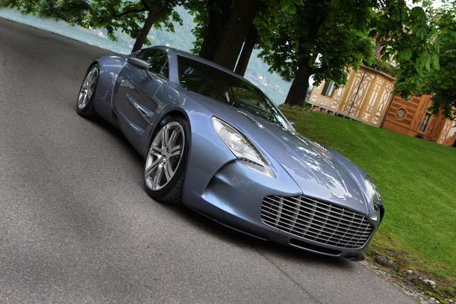 Mobil Termahal di Dunia ke-5 : Aston Martin One-77