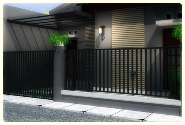minimalis yang lain pagar rumah minimalis modern pagar tembok rumah