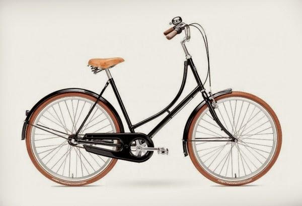 Bicicleta de mujer estilo clásico, Kopenhagen Lady