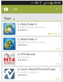 Unduh aplikasi di Google play