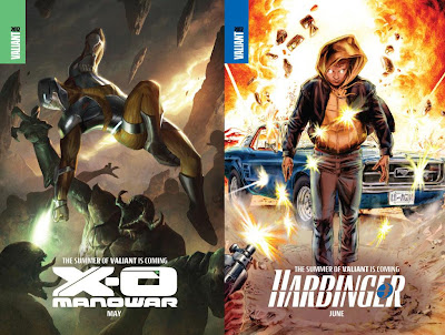 The Summer of Valiant - X-O Manowar & Harbinger