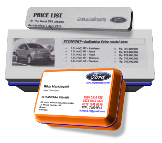 Daftar Harga dan Paket Kredit Ford EcoSport Terbaru