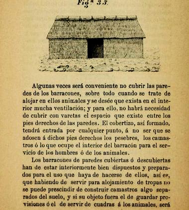 Trochas de Cuba: construcción de barracones