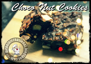 Cara Membuat Choco Nut Cookies Istimewa Renyah Manis dan Gurih