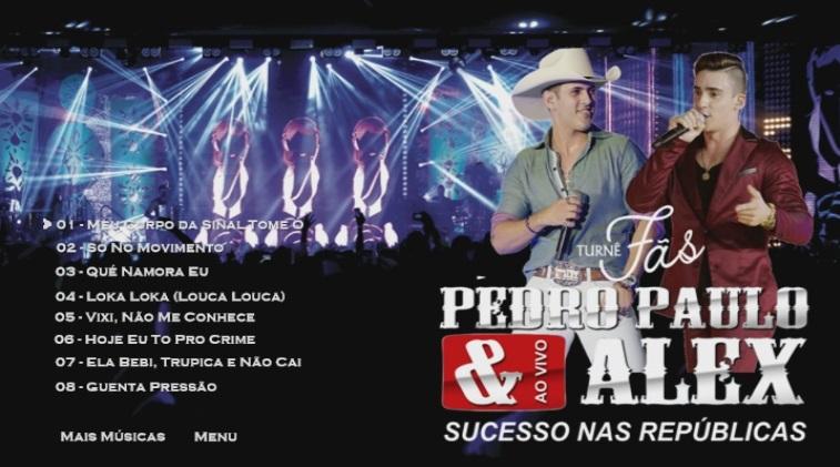 CLICK AQUI  Download Pedro Paulo & Alex Sucesso Nas Republicas Turnê Fâs DVD-R 2