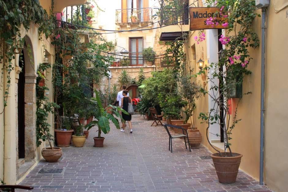 Jewish Quarter of Chania in Crete