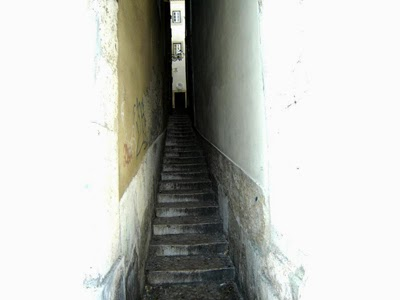 insta-grão: escadaria e beco sanitário