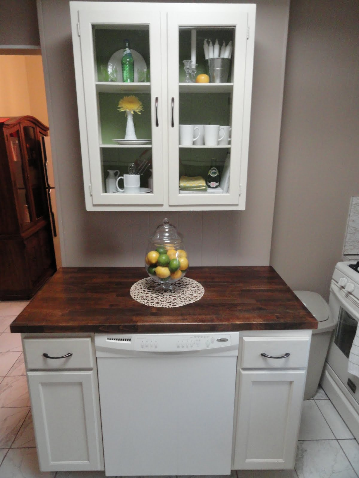 The Precious Little Things In Life Diy Dishwasher Cabinet