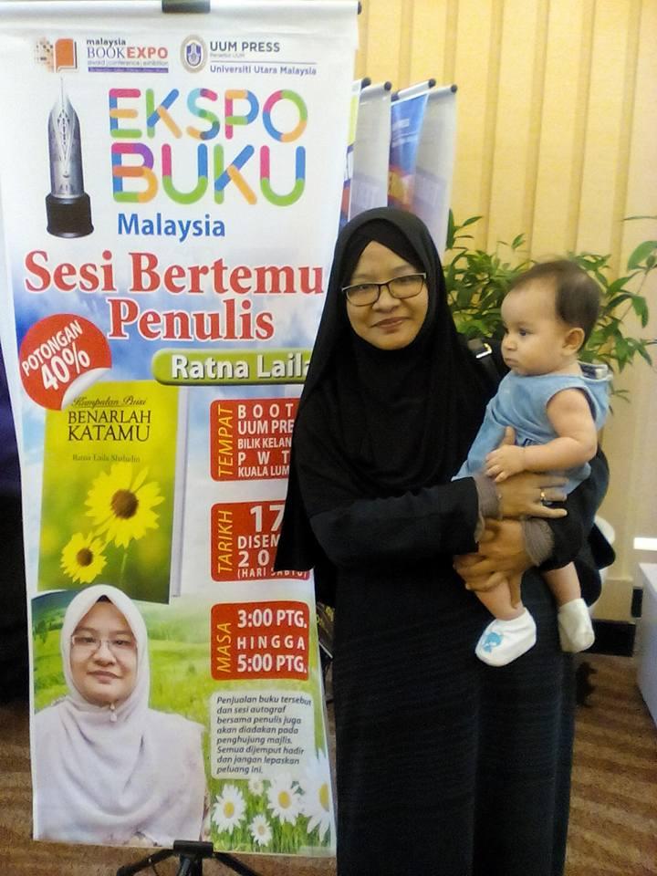 Sesi Bersama Penulis UUM Press Ekspo Buku Malaysia 2016