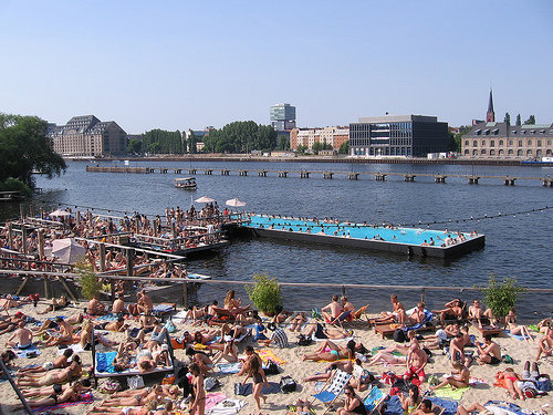 swim pool in Berlin