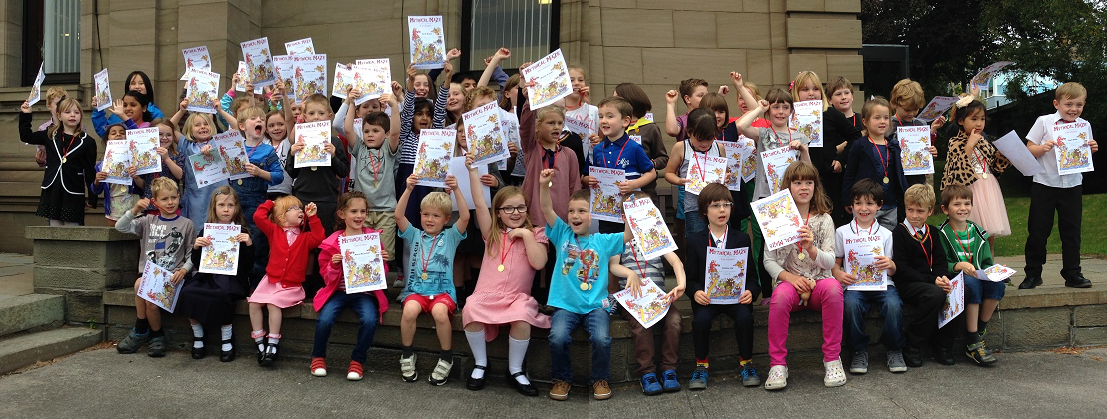 Broughty Ferry Library Summer Reading Challenge Winners 2014