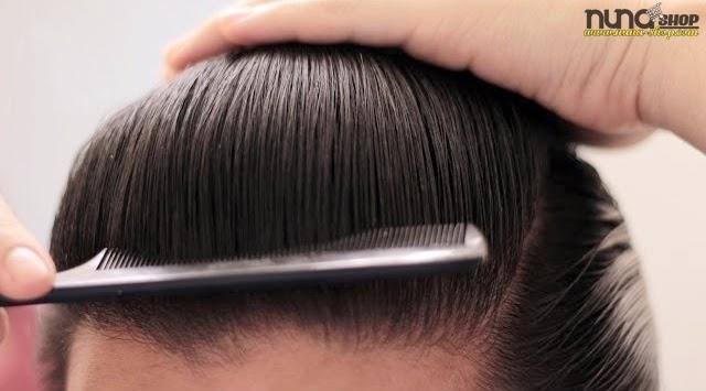 Cara Menyisir Rambut Pake Pomade