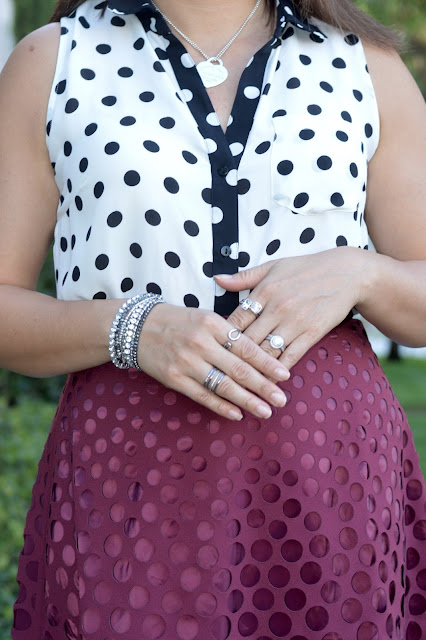 J Crew perforated eyelet a-line skirt
