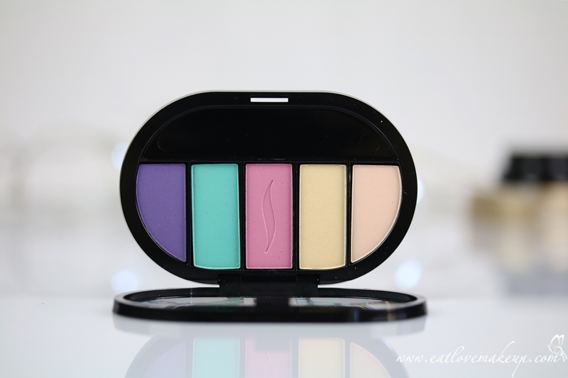 Sephora Craig & Karl Colorful 5 Pastel To Pop Palette