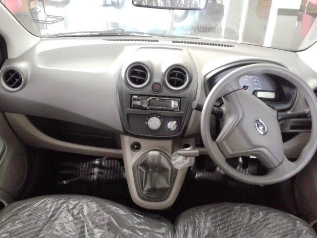 Interior Nissan Datsun GO +