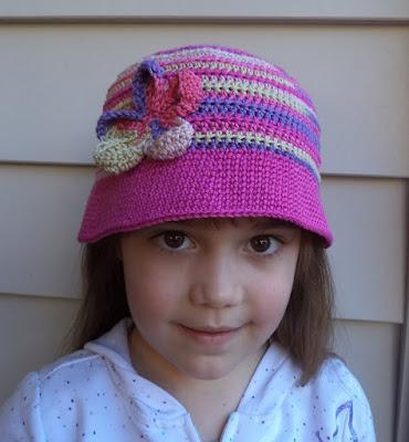 Travel Headwear Crochet Bucket Hat Pattern For Children