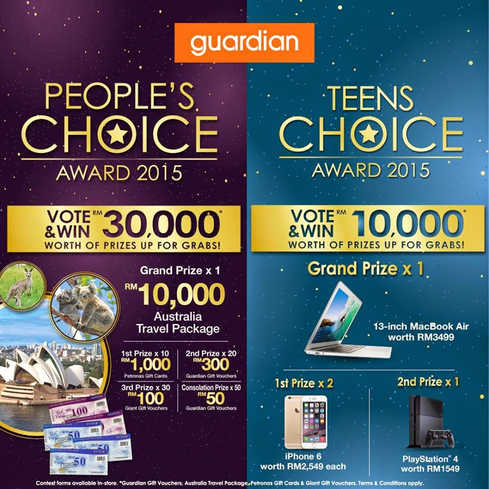 guardian teen choice award