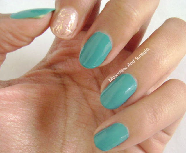 Teal Me More and Bella Bronze Review and Swatch || LYN Nail Polish